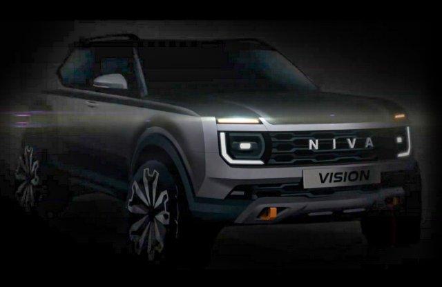 Valóban készül az új Lada Niva, így fog kinézni