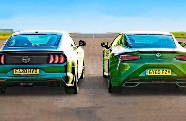 Jenki a japó ellen, avagy Mustang Bullitt vs. Lexus LC500