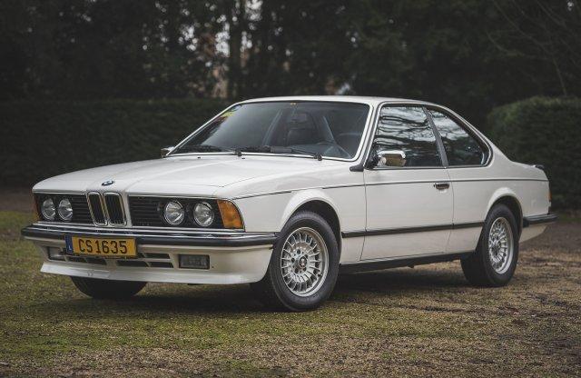 Sean Conneryé volt újonnan ez a csodás BMW 635CSi