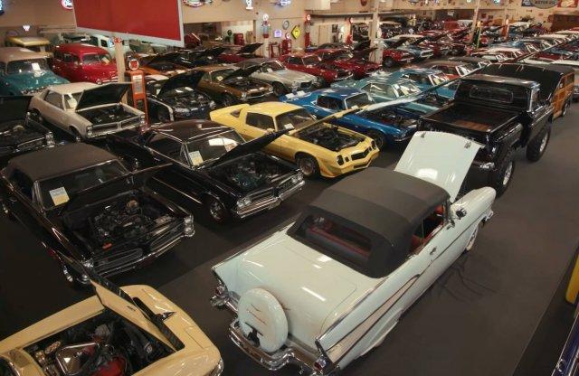 Kalapács alá kerül az amerikai Muscle Car múzeum gyűjteménye