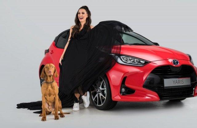 Televíziós híresség lesz a Toyota Yaris hazai reklámarca