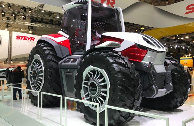 Ilyen lehet a jövő traktora a Steyr szerint
