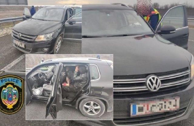 Tízszemélyes Volkswagen Tiguant fogtak a magyar rendőrök
