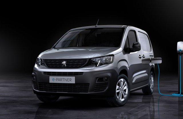 Akár 275 km is lehet a Peugeot villanyfurgonjának hatótávja