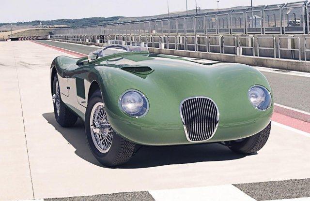 Újabb ikont támaszt fel a Jaguar! – Ismét gyártásban a C-type