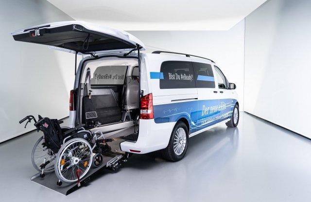 Kerekesszékesként is opció az elektromos autózás