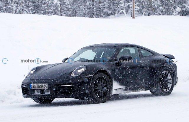 Készül már a terepjáró Porsche 911