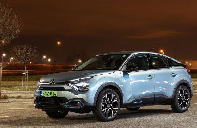 Nekik már sikerült – Citroën ë-C4 100% ëlectric teszt