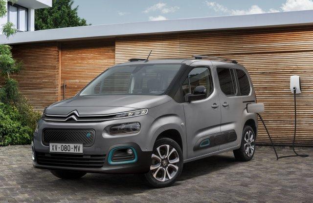 Elektromos családi Citroën érkezett