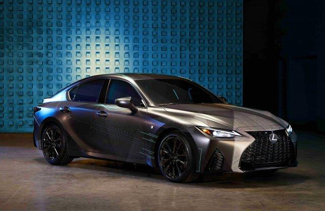 Gamereknek tervezett autót a Lexus, ötliteres V8-as motorral