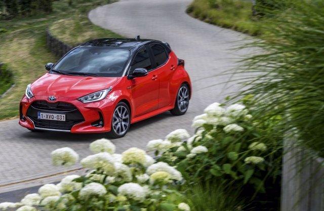 Egész Európa januári eladási listáját vezette a Toyota Yaris
