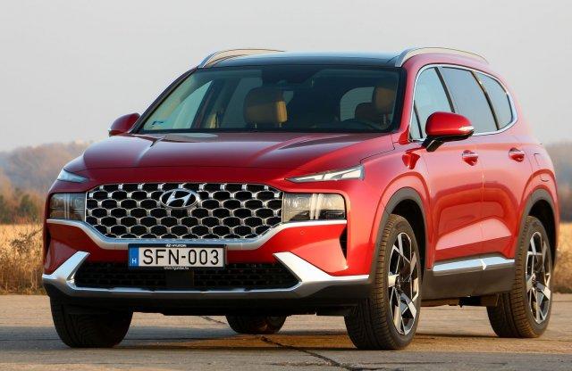 X5 helyett megteszi? Új Hyundai Santa Fe teszt