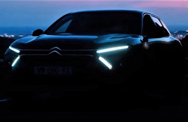 Új Citroënt hoz a hajnal a C5 előzetesben, pár nap és megérkezik