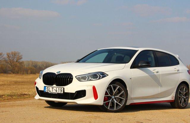 Még több fronthajtású BMW-t a világnak! – BMW 128 ti teszt
