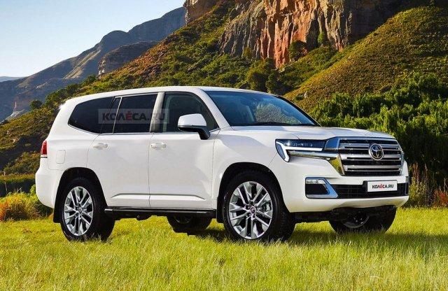 Ilyen lehet majd az új Toyota Land Cruiser!
