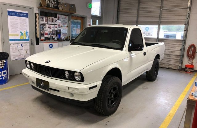 """Még egy """"pofon"""" a Supra után? BMW Tacoma Amerikából!"""