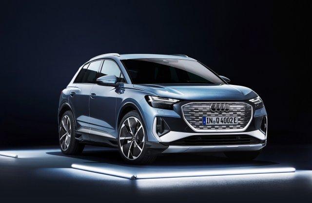 Az Audi szerint a jövő: bemutatták a Q4 e-tron két változatát