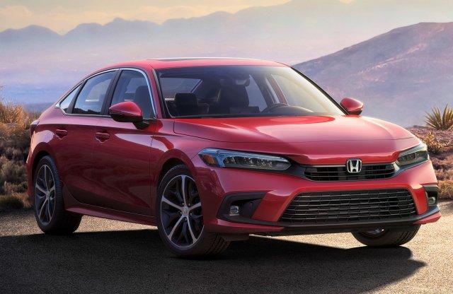 Itt az első hivatalos kép a Honda Civic 11. generációjáról!
