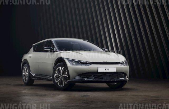Már itthon is előrendelhető a Kia új villanyautója, az EV6
