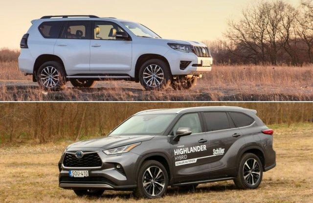 Ezzel a két nagy SUV-val  erősít idén a Toyota