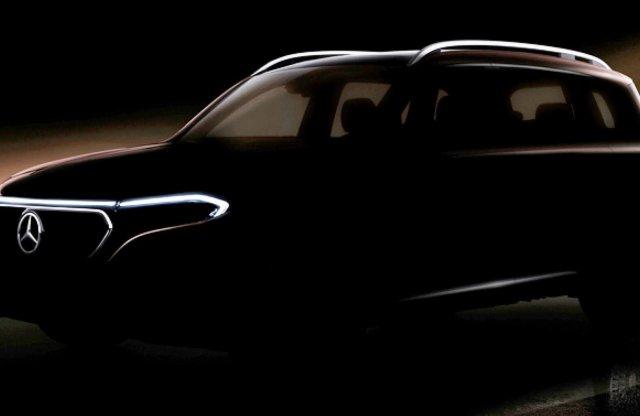 Megvillantották a következő teljesen elektromos Mercedest