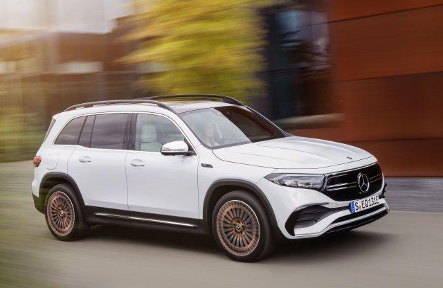 Íme a magyar gyártású, elektromos Mercedes
