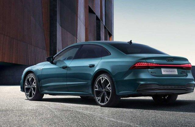 Elvesztette kupé jellegét az Audi A7