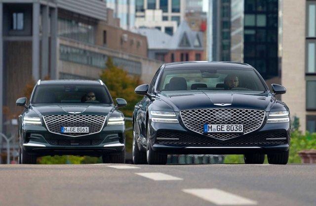Prémium Hyundait mindenkinek: Európába is érkeznek a Genesisek!