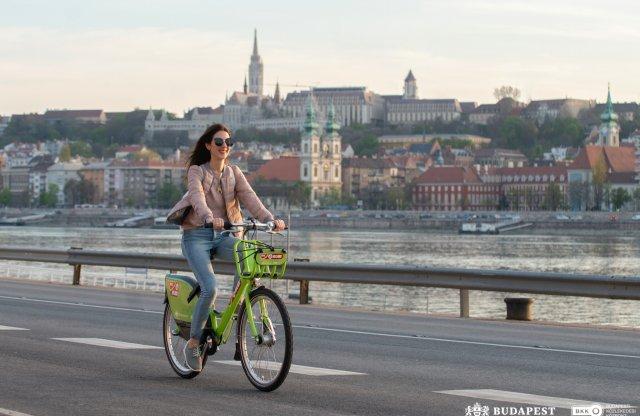 Olcsóbban fog könnyebb bringákat adni Budapestnek a MOL Bubi