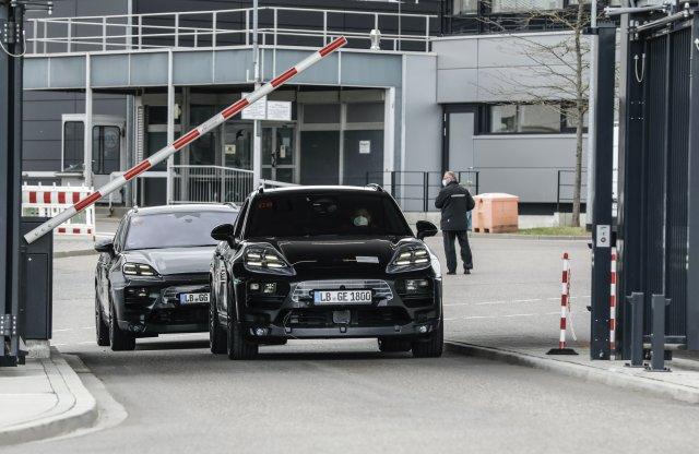 Már élesben is tesztelik az elektromos Porsche crossovert