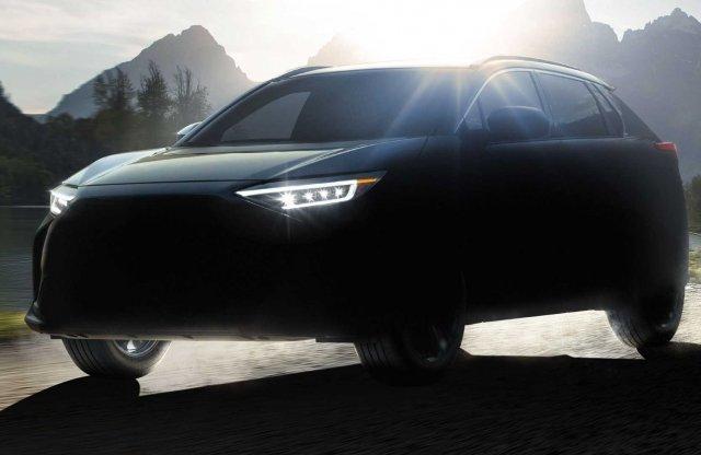 Megvillantották a Subaru SUV-ját – a Toyotával közös platformon