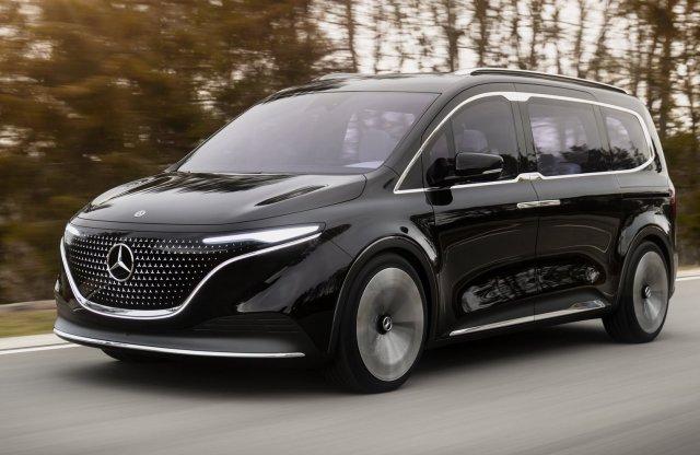 Luxus villanyfurgon jön a Mercedestől, francia alapokon