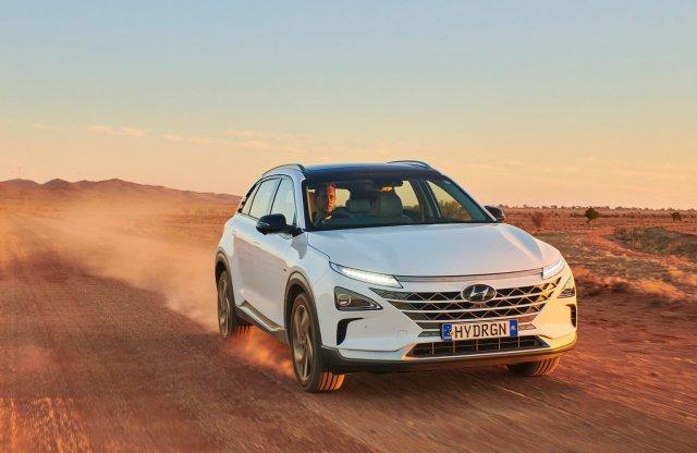 A Hyundai megdöntötte hidrogénautós hatótáv-rekordot
