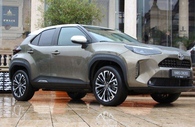 5,99 millió forintról indul a Toyota Yaris Cross ára