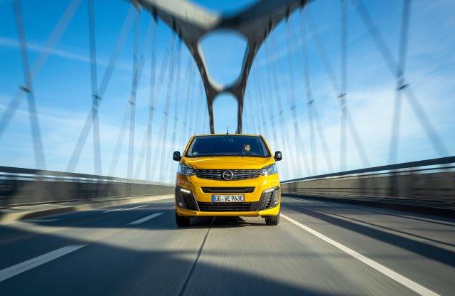 Már kapható az elektromos Opel Vivaro-e és a Zafira-e Life is