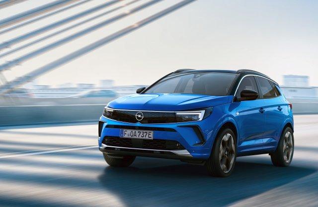 Az Opel Grandland is felveszi a márka új arcvonásait