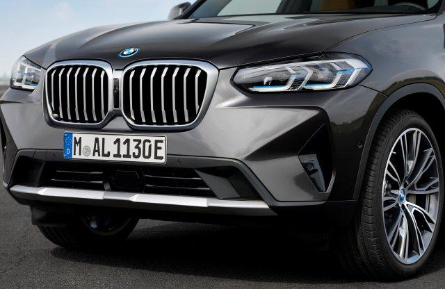 Az X3 és az X4 modellekkel folytatódik a BMW facelift hulláma