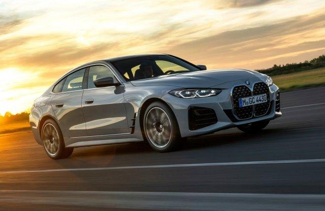 A 4-es és az M3/M4 ábrázatával debütált a BMW 4 Gran Coupé