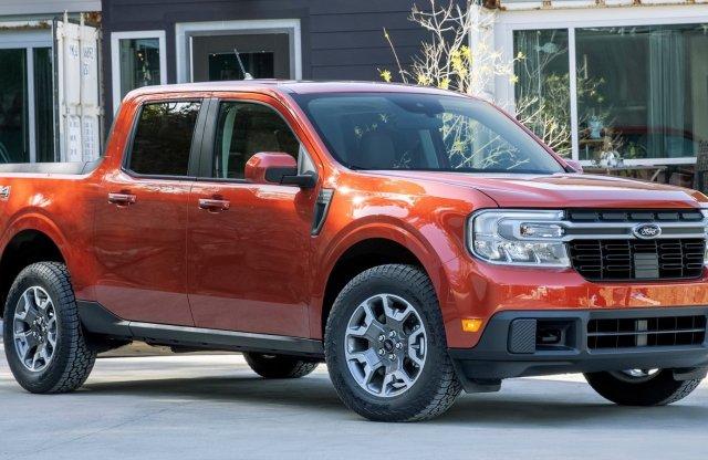 Bestseller gyanús: új hibrid pickup a Fordtól, Fiesta áron