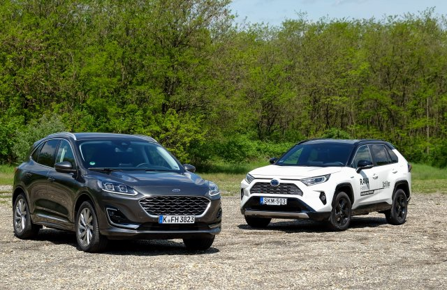 Európa vagy Japán? Ford Kuga FHEV vagy Toyota RAV4 Hybrid?