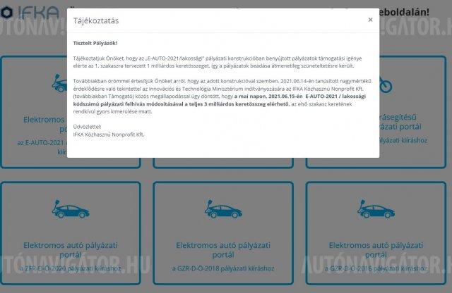 Bréking: idén sem tart sokáig a villanyautó-támogatási pályázat