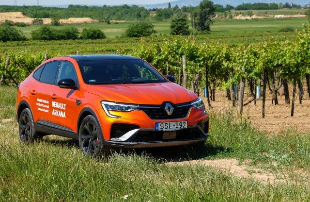Élőben ütős – kipróbáltuk a Renault Arkanát
