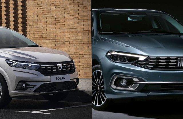 Ki nyeri az árversenyt? A Dacia Logan vagy a Fiat Tipo?
