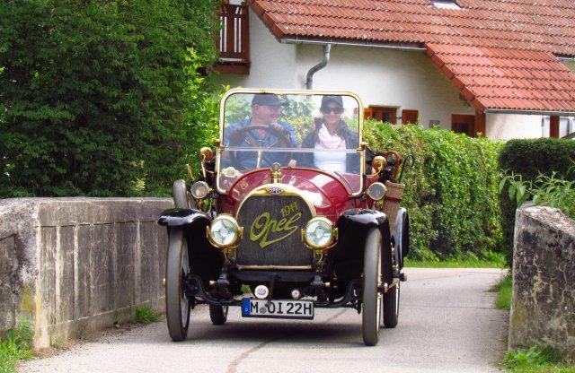 """Pontosan tíz éve """"ment haza"""" az akkor 100 éves Opel Budapestről!"""