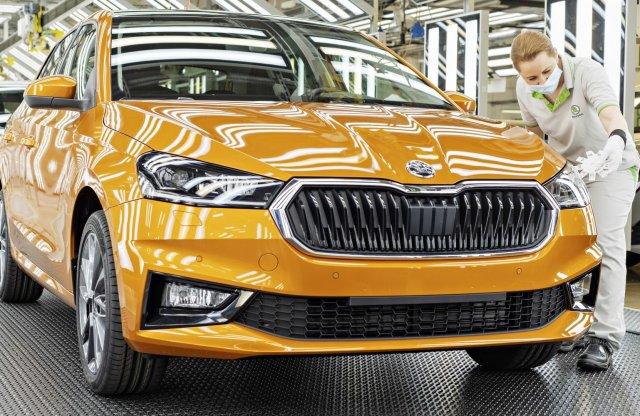 Beindult a gyártás, már úton vannak az első Škoda Fabiák