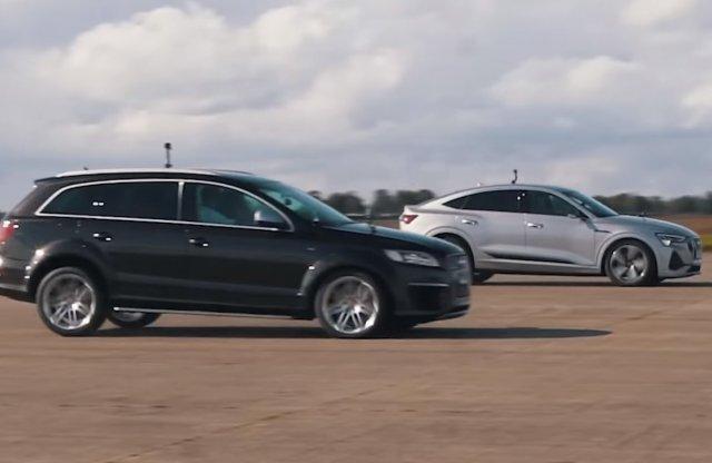 Vajon odakormol a V12 TDI Q7 az E-Tron Sportbacknek?