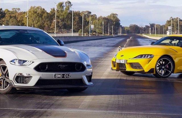Íme a Supra vs. Mustang visszavágó! Vajon most győz a revolver?
