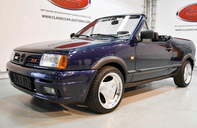 Egyszerre kabrió és targa ez a ritka Volkswagen Polo