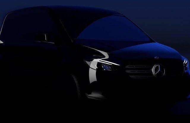 Itt az első ízelítő a vadonatúj Mercedes-Benz Citanról