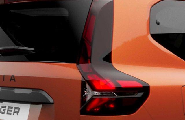 Részletfotókon az új, hétüléses Dacia, már a nevét is tudjuk!